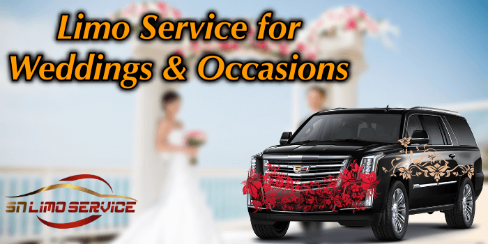 Limo Service for Weddings