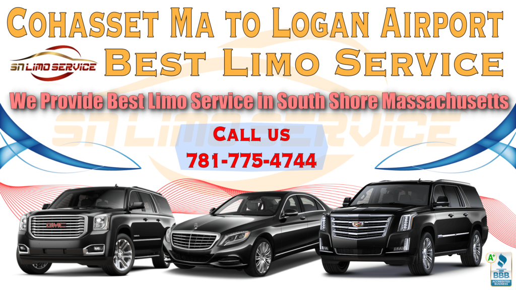 Limo Service to Logan Airport from Cohasset Ma