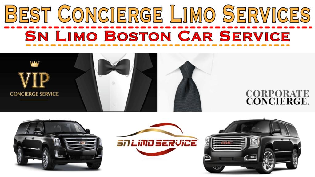 Limo Service concierge Boston Ma